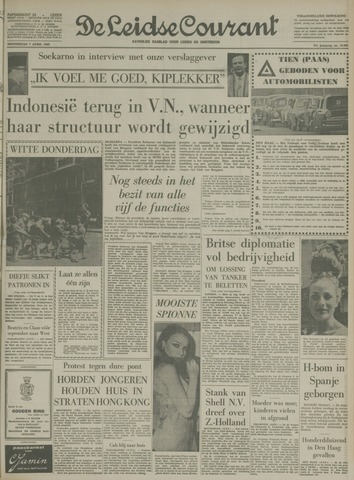 Leidse Courant 1966-04-07