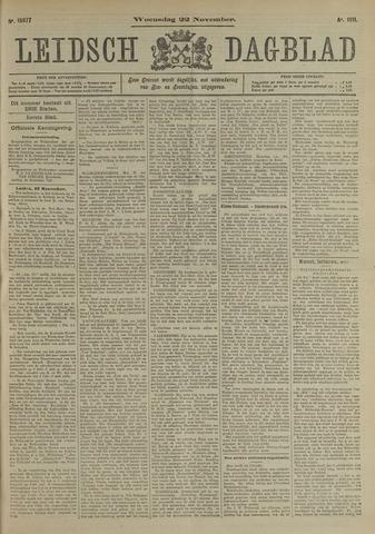 Leidsch Dagblad 1911-11-22