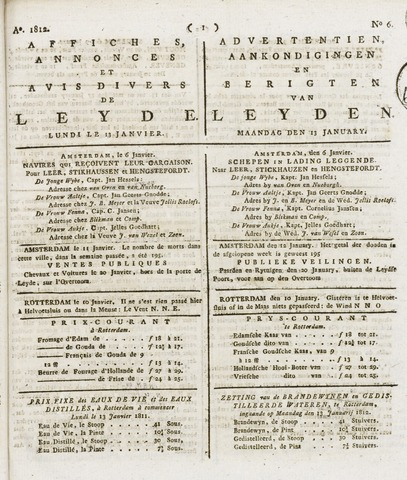 Leydse Courant 1812-01-13