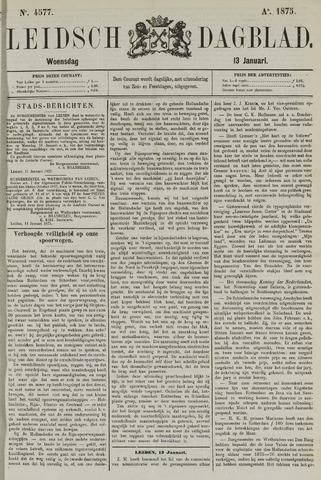Leidsch Dagblad 1875-01-13
