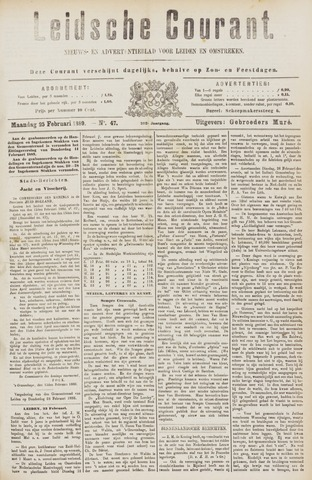 Leydse Courant 1889-02-25