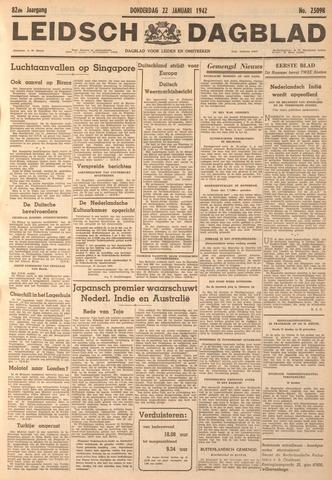 Leidsch Dagblad 1942-01-22