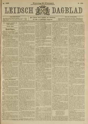 Leidsch Dagblad 1904-02-20