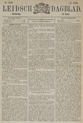 Leidsch Dagblad 1878-04-25