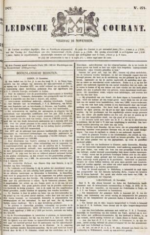 Leydse Courant 1877-11-16