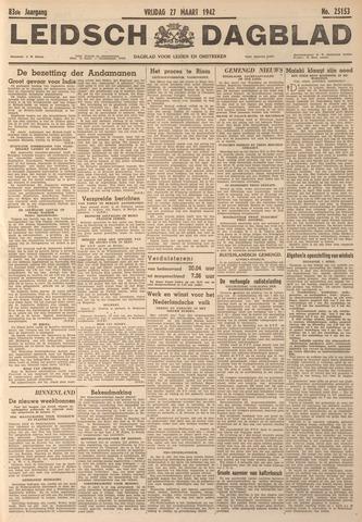 Leidsch Dagblad 1942-03-27