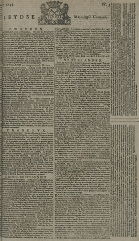 Leydse Courant 1749-01-06
