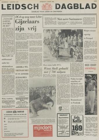 Leidsch Dagblad 1975-08-07