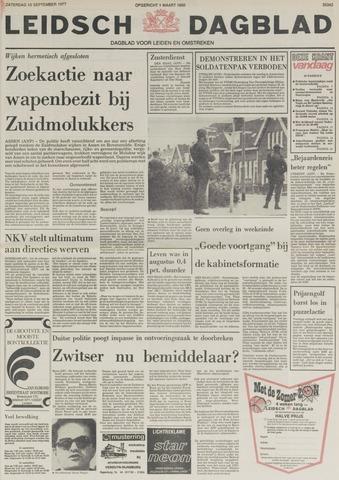 Leidsch Dagblad 1977-09-10