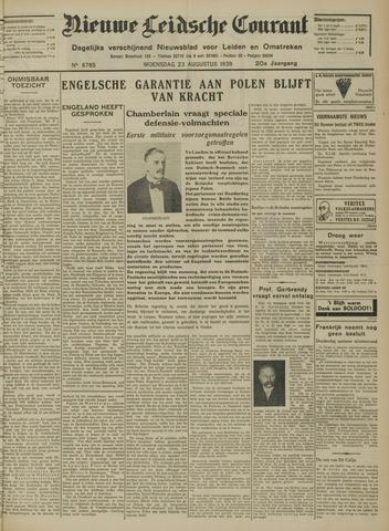 Nieuwe Leidsche Courant 1939-08-23