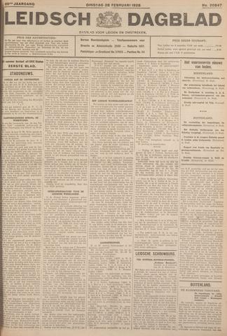 Leidsch Dagblad 1928-02-28