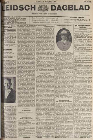 Leidsch Dagblad 1933-11-10