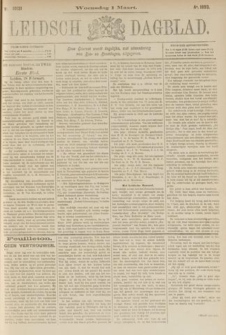 Leidsch Dagblad 1893-03-01