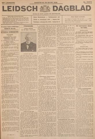 Leidsch Dagblad 1928-03-29
