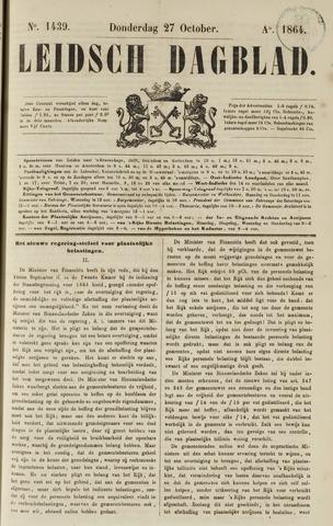 Leidsch Dagblad 1864-10-27