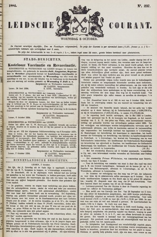 Leydse Courant 1884-10-08
