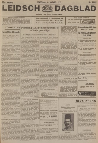 Leidsch Dagblad 1937-12-30