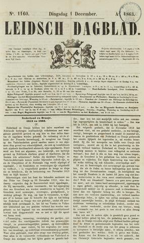 Leidsch Dagblad 1863-12-01