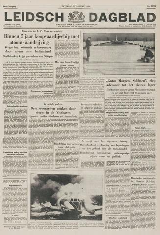Leidsch Dagblad 1956-01-21