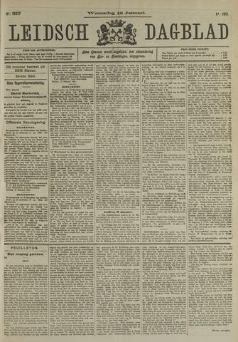 Leidsch Dagblad 1911-01-18
