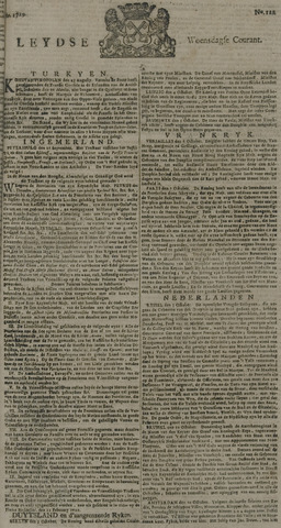 Leydse Courant 1729-10-12