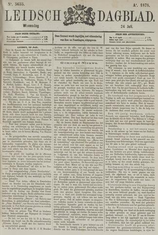 Leidsch Dagblad 1878-07-24