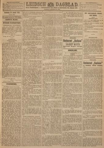 Leidsch Dagblad 1923-01-25