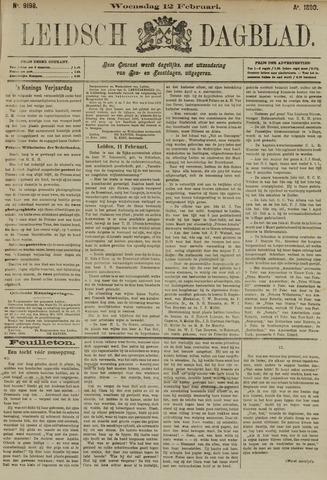 Leidsch Dagblad 1890-02-12