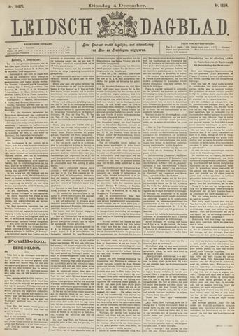 Leidsch Dagblad 1894-12-04