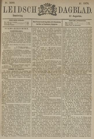 Leidsch Dagblad 1878-08-22
