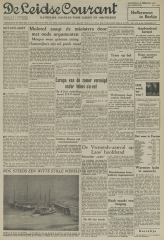 Leidse Courant 1954-02-10