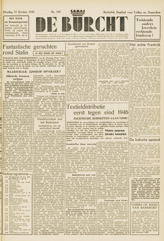 De Burcht 1945-10-23