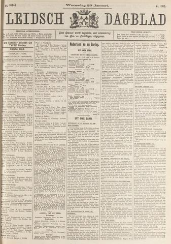 Leidsch Dagblad 1915-01-20