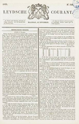 Leydse Courant 1855-11-19
