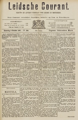 Leydse Courant 1887-10-08