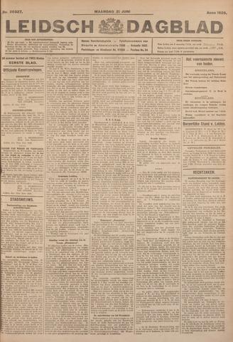 Leidsch Dagblad 1926-06-21