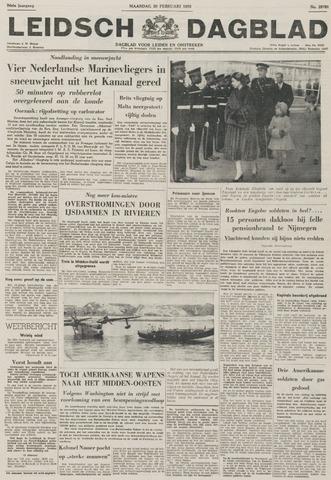 Leidsch Dagblad 1956-02-20