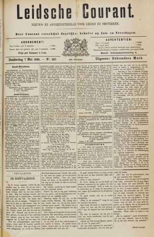 Leydse Courant 1885-05-07