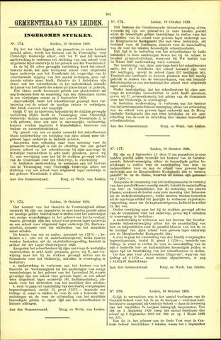 Handelingen van de Raad 1929-10-19