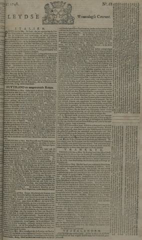 Leydse Courant 1748-06-05