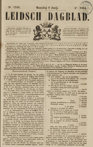 Leidsch Dagblad 1864-06-06