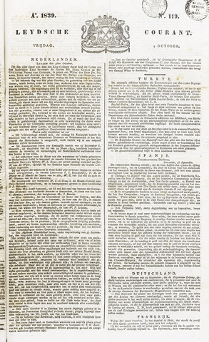 Leydse Courant 1839-10-04