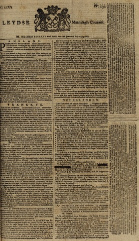 Leydse Courant 1777-11-03