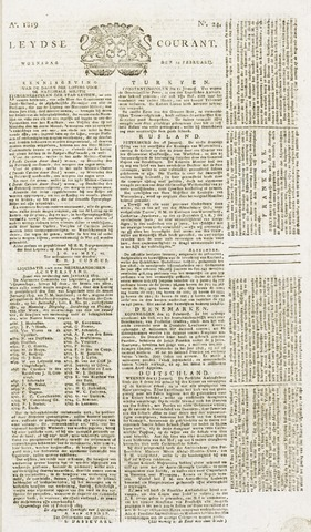 Leydse Courant 1819-02-24