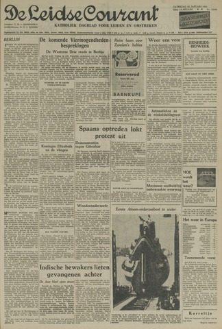 Leidse Courant 1954-01-23