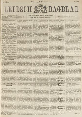 Leidsch Dagblad 1893-11-07