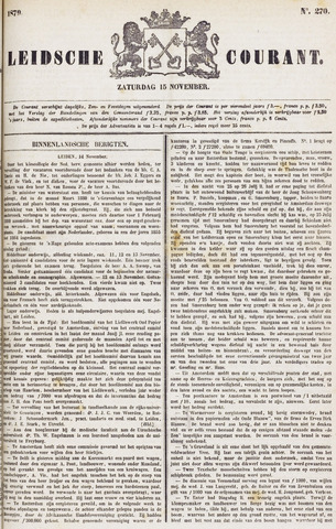 Leydse Courant 1879-11-15