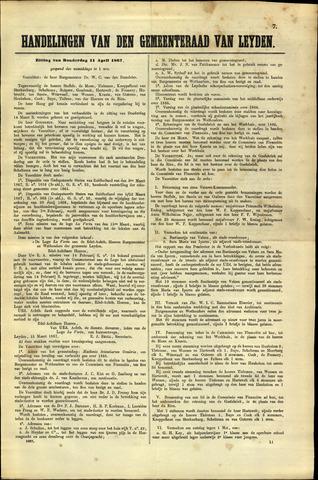 Handelingen van de Raad 1867-04-11