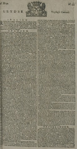 Leydse Courant 1734-04-09