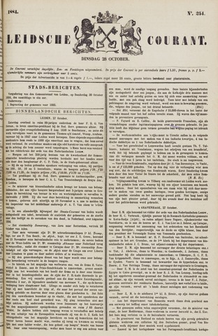 Leydse Courant 1884-10-28